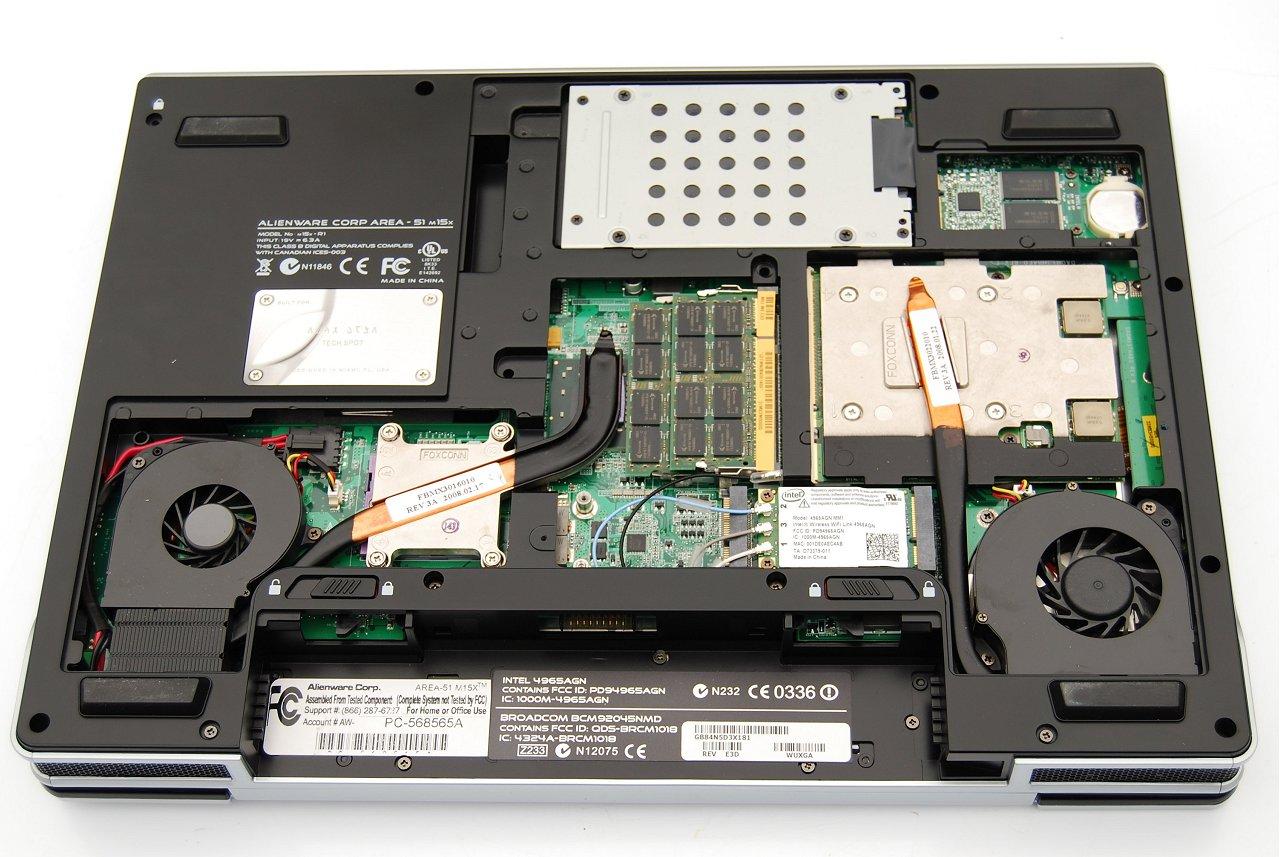 Alienware Area 51 M15x Intel Turbo Memory Card