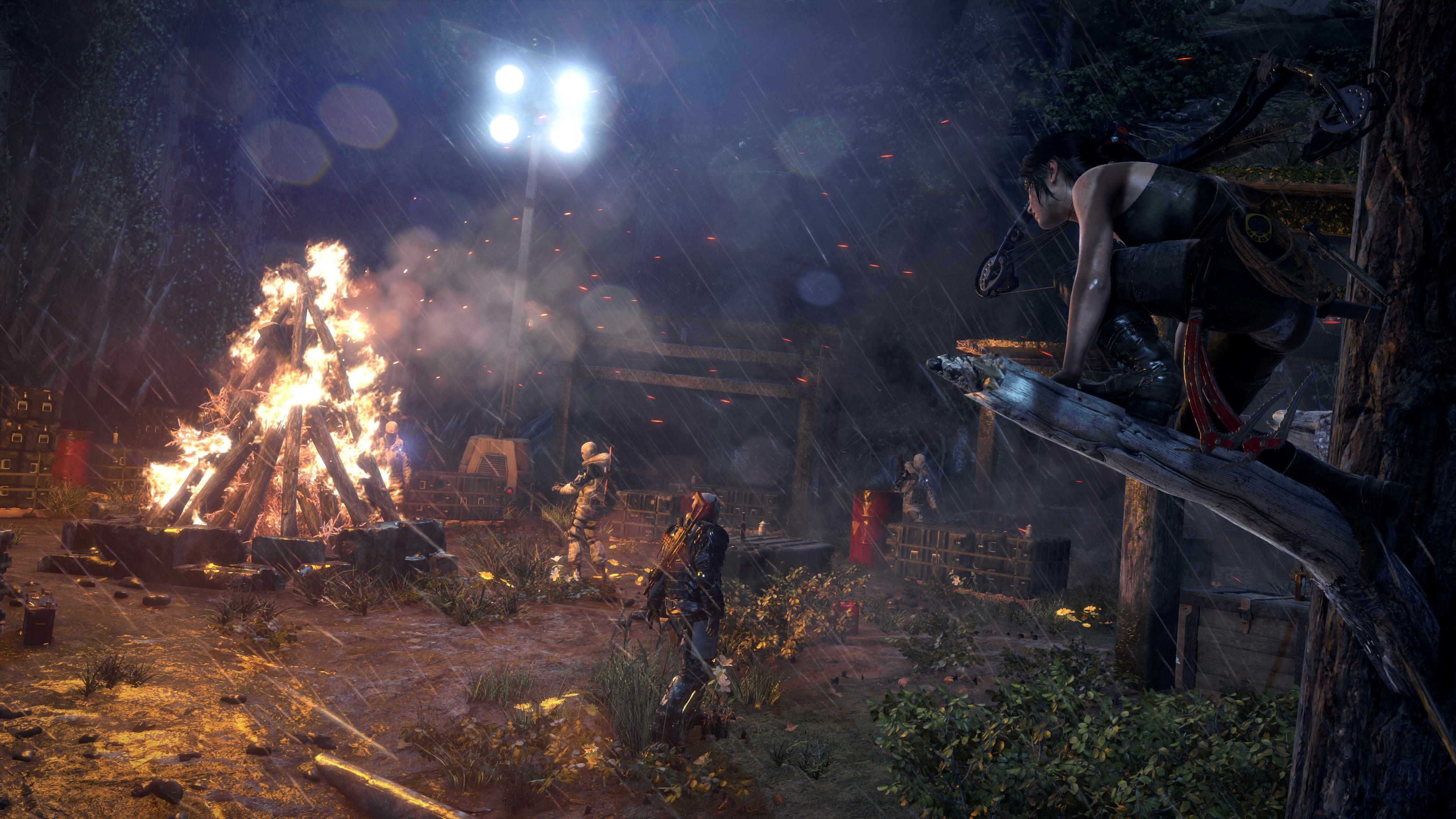 Rise Of The Tomb Raider Pc Graphics And Cpu Performance Techspot