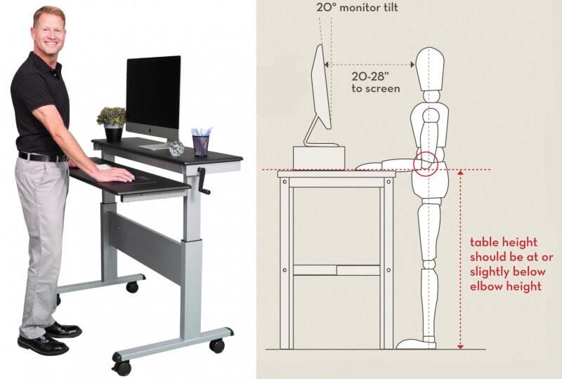 Image result for images of standing desk