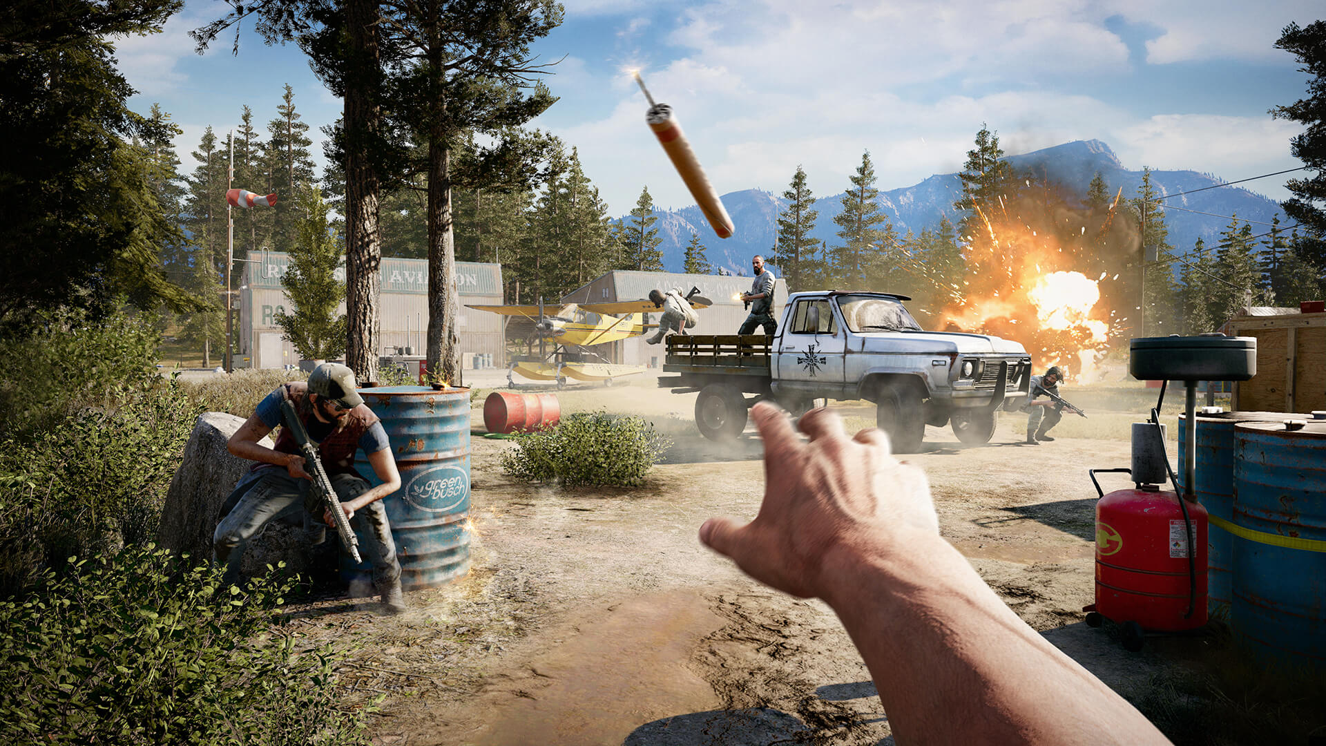 Far Cry 5 Benchmarked 50 Gpus Tested Techspot