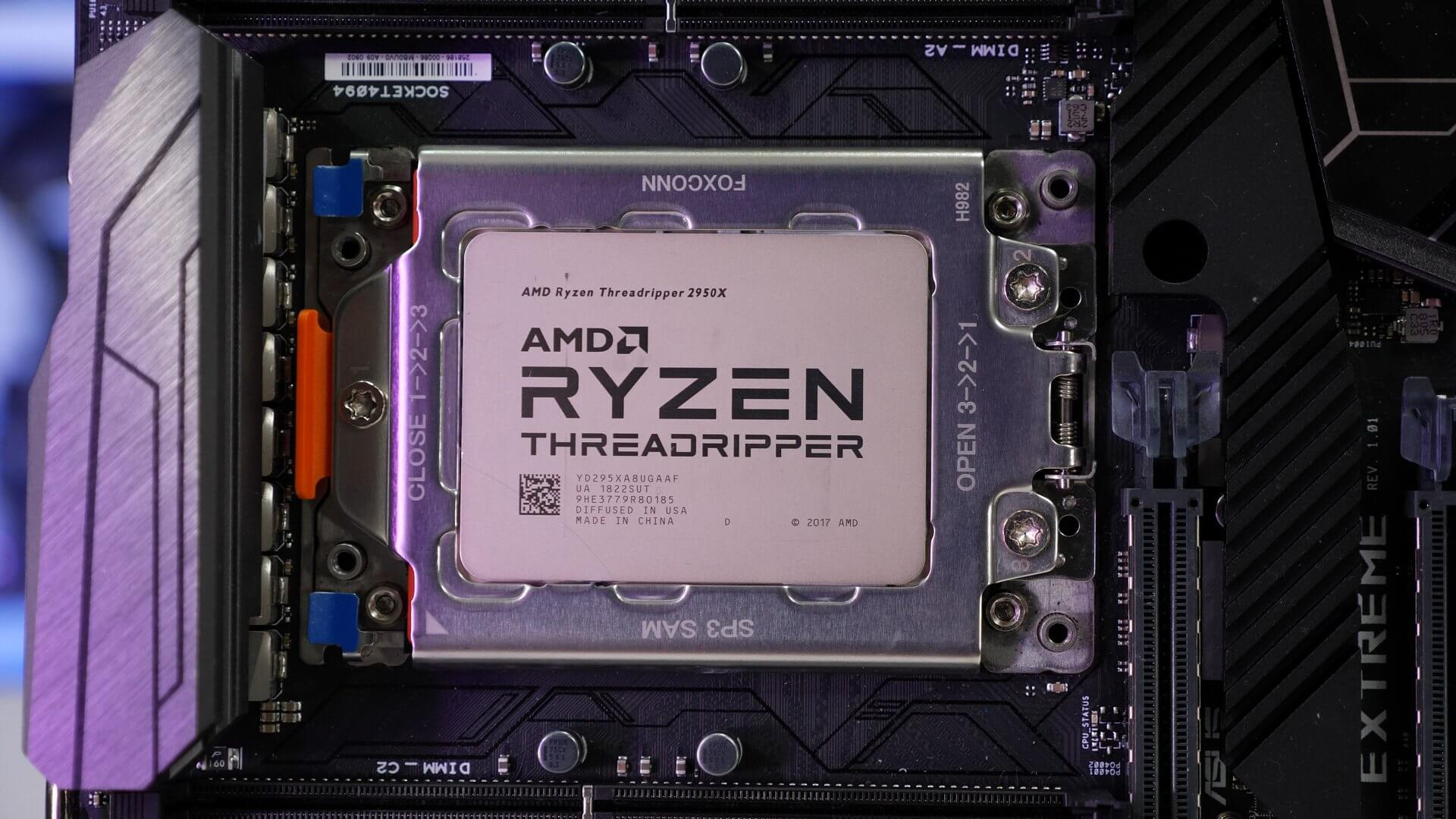 AMD Ryzen Threadripper 2990WX & 2950X Review - TechSpot
