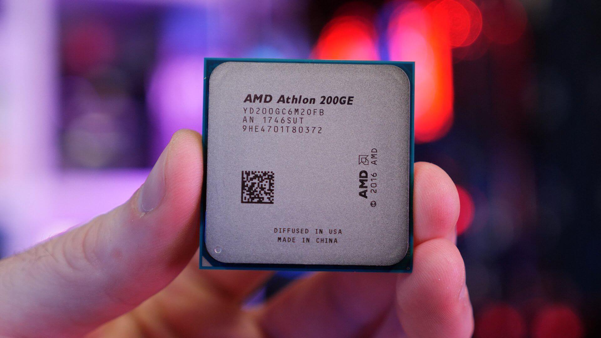 Amd Athlon 200ge Review 55 Zen Cpu