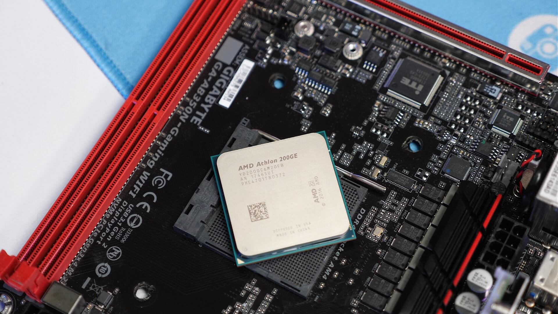 Amd Athlon 200ge Review 55 Zen Cpu Who Is It For