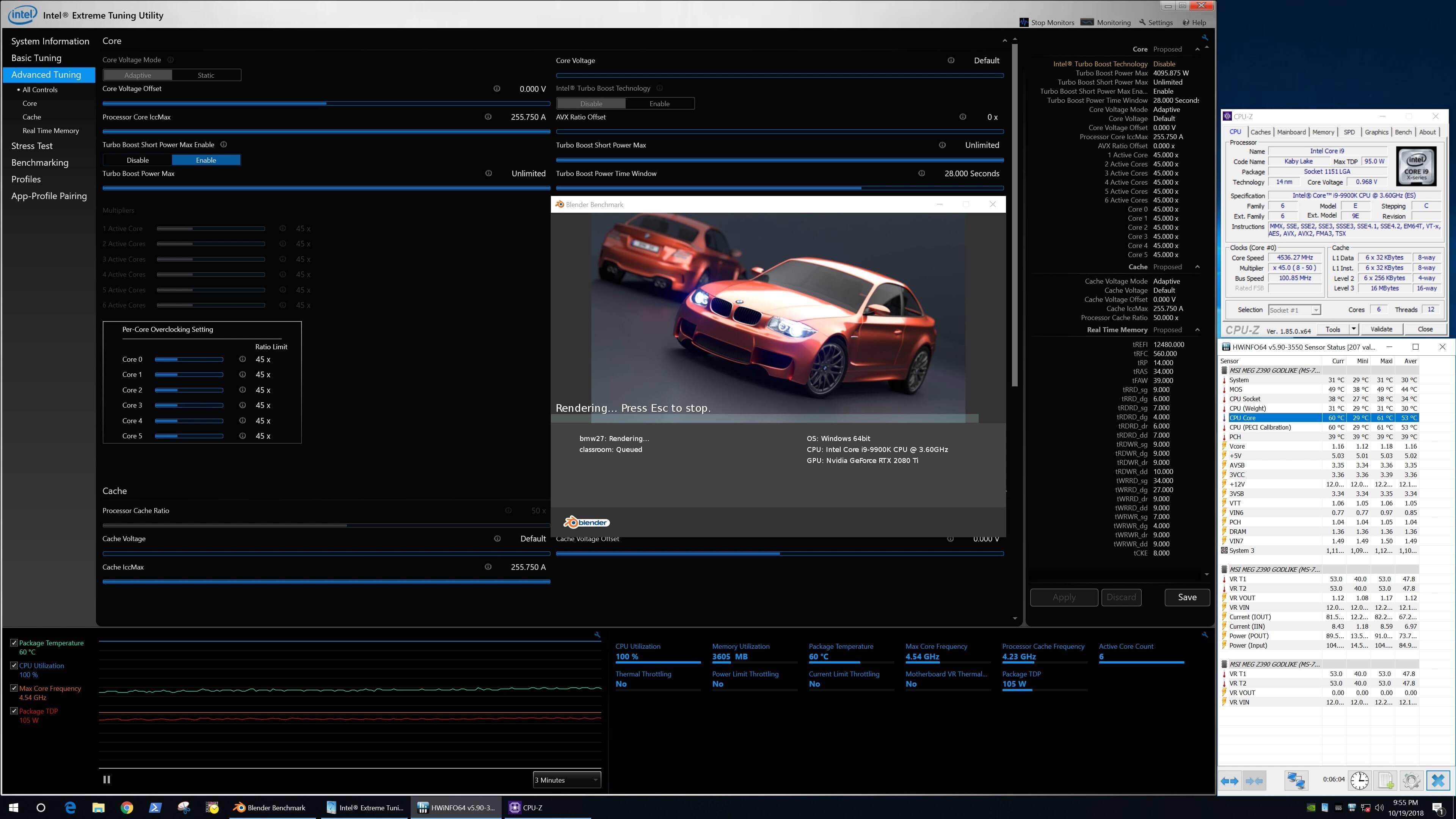 Solder vs  Paste on the Core i9-9900K - TechSpot