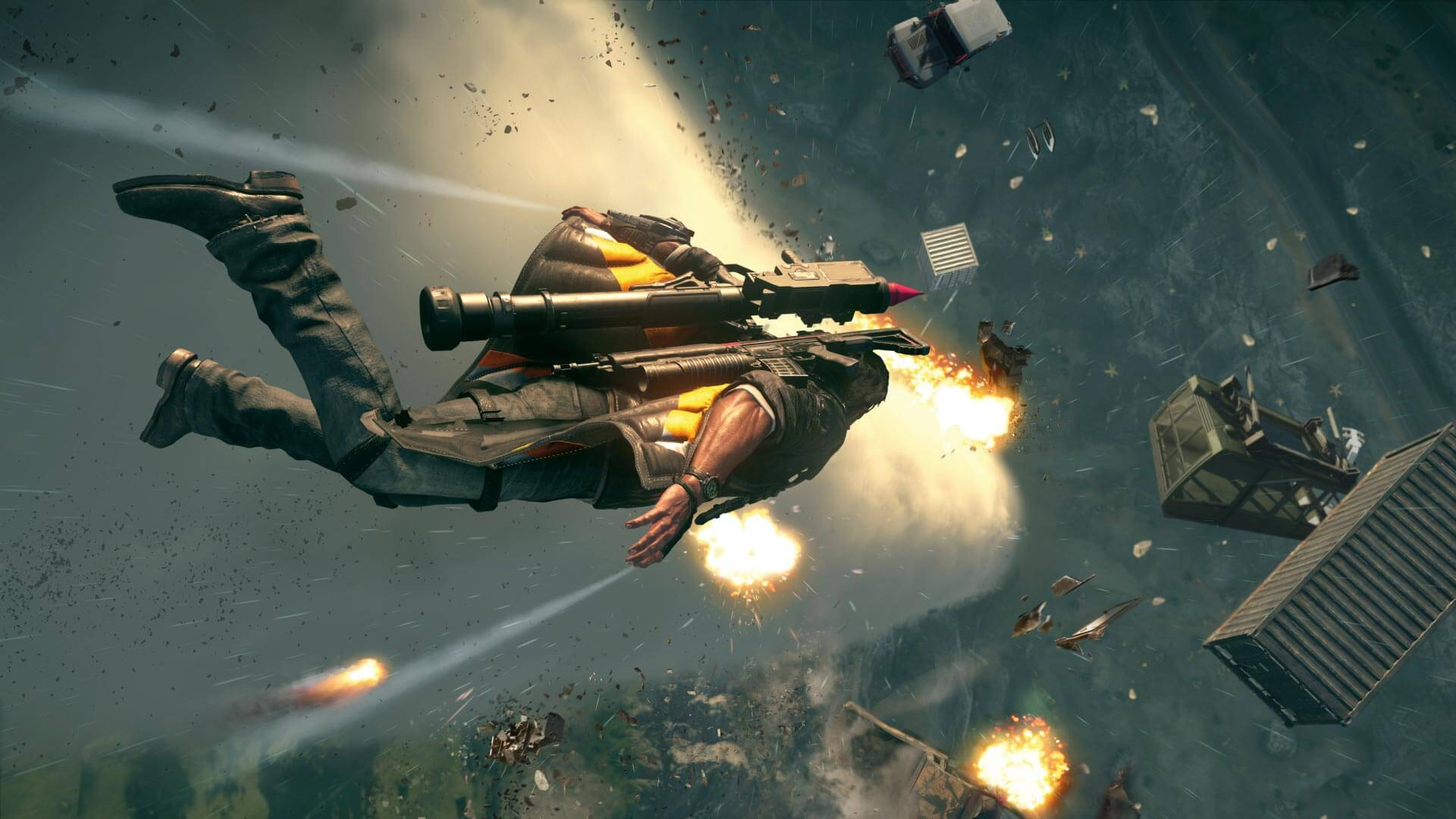 Just Cause 4 PC Graphics Benchmark