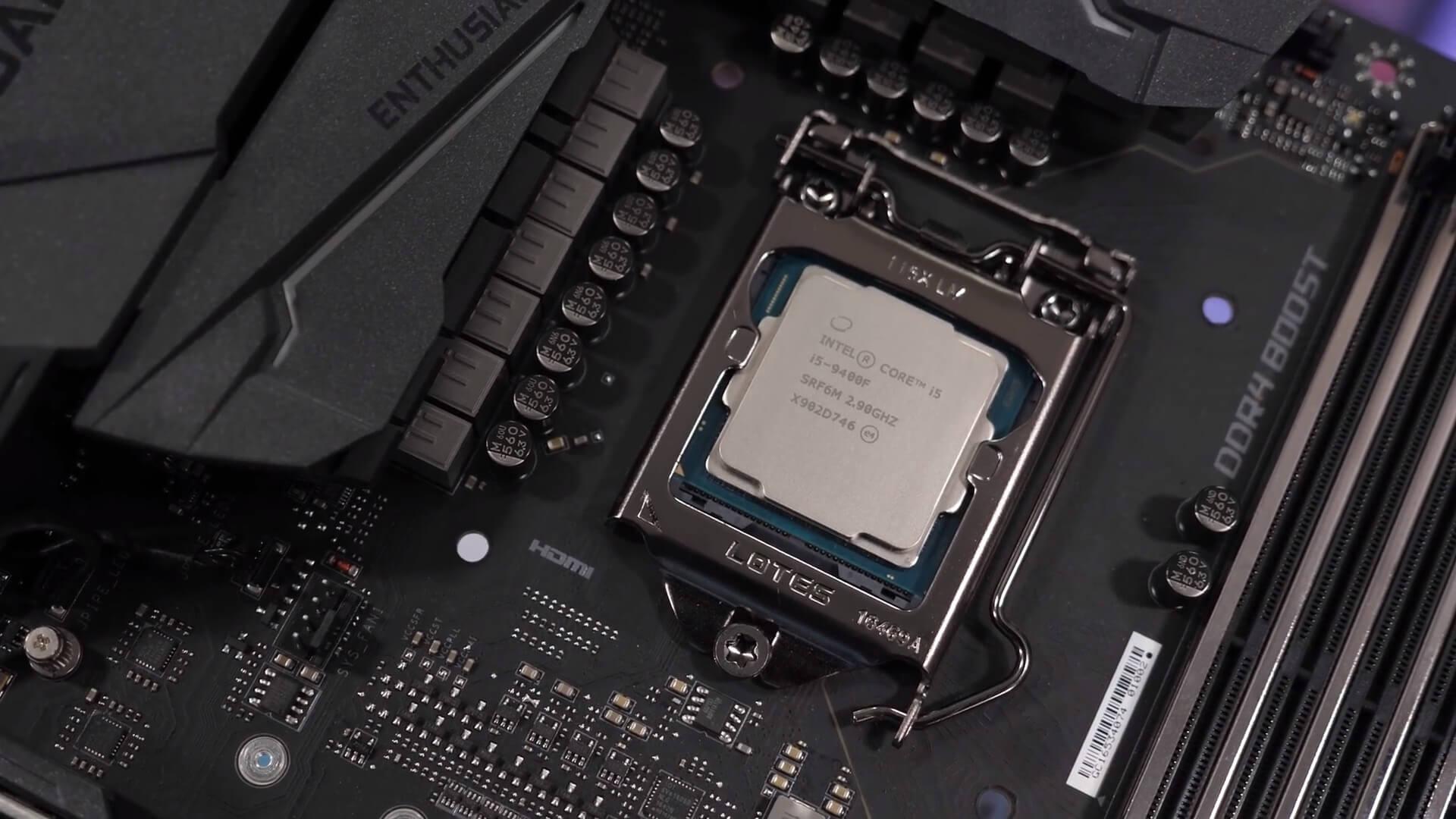 Intel Core I5 9400f Vs Amd Ryzen 5 2600x