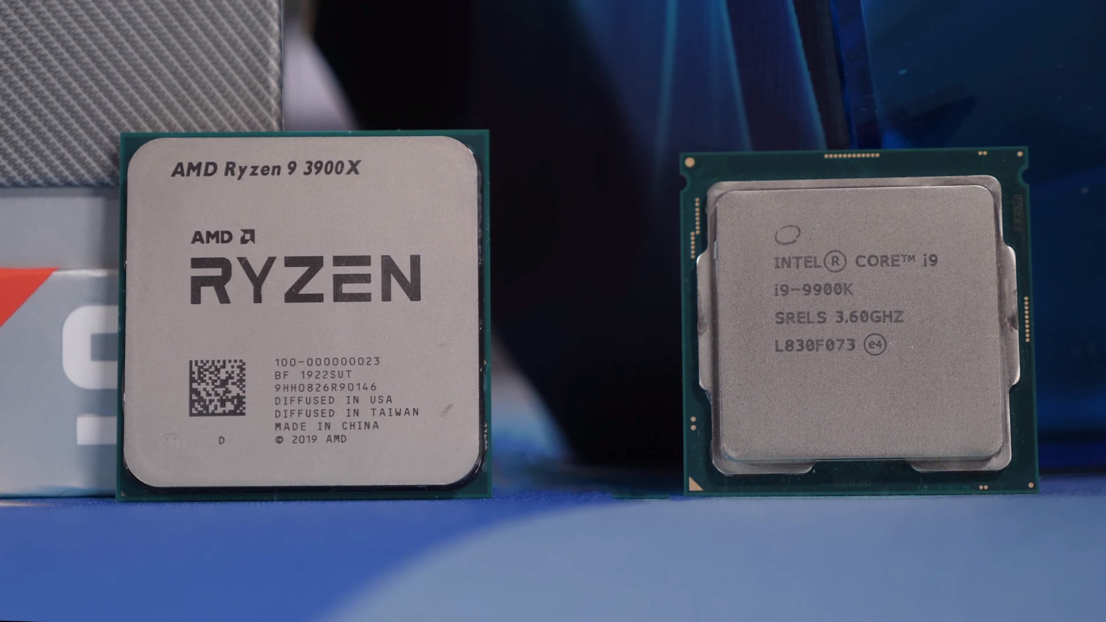 Ryzen 9 3900x Vs Core I9 9900k 36 Game Benchmark