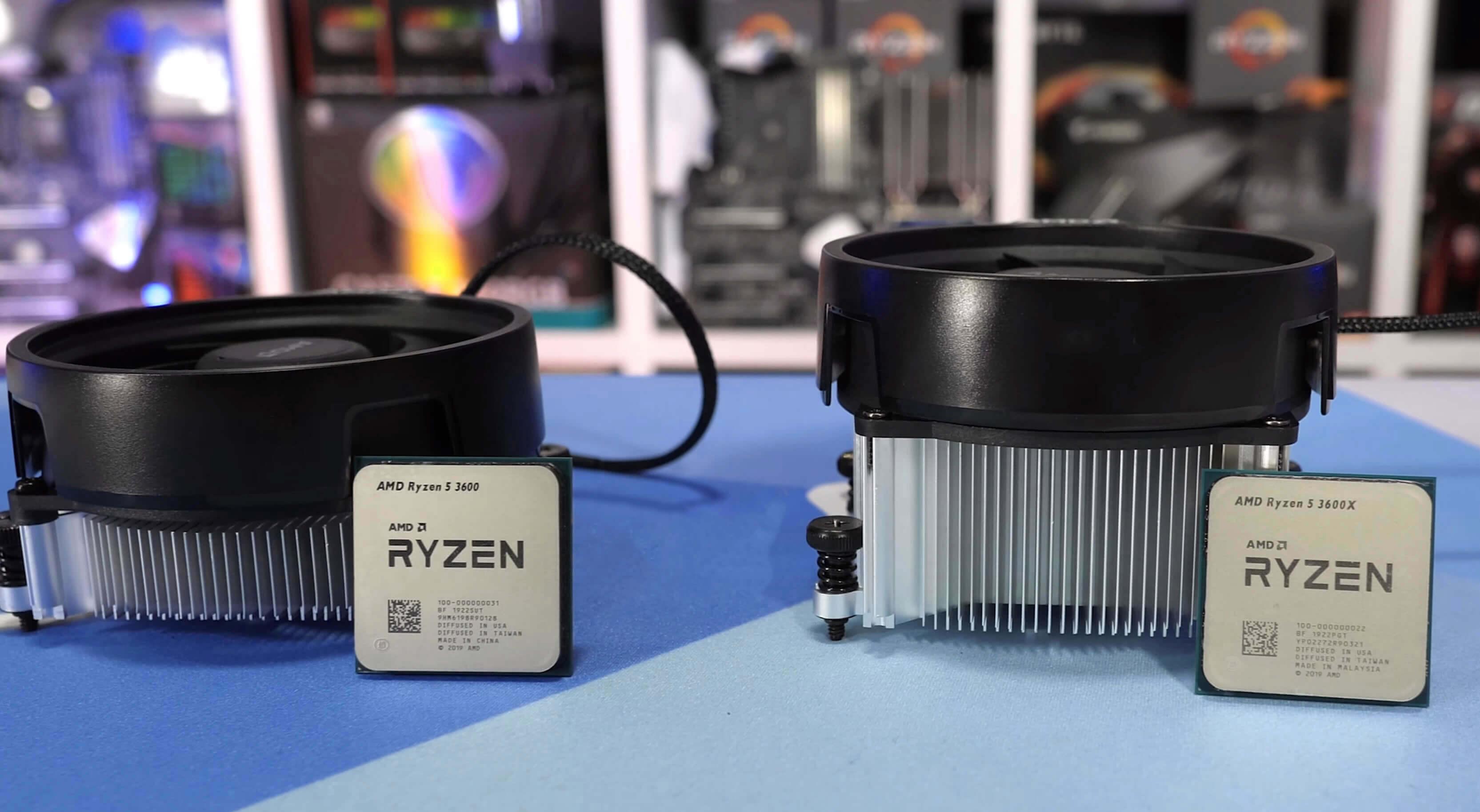 Ryzen 5 3600 Vs 3600x Which Should You Buy