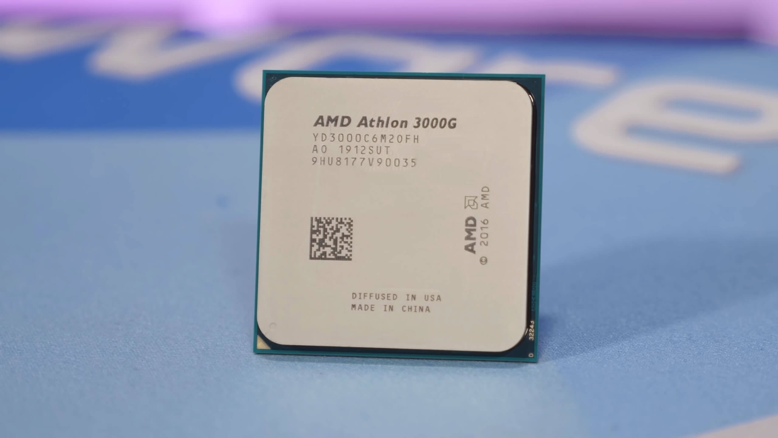 CPU amd athlon 300au