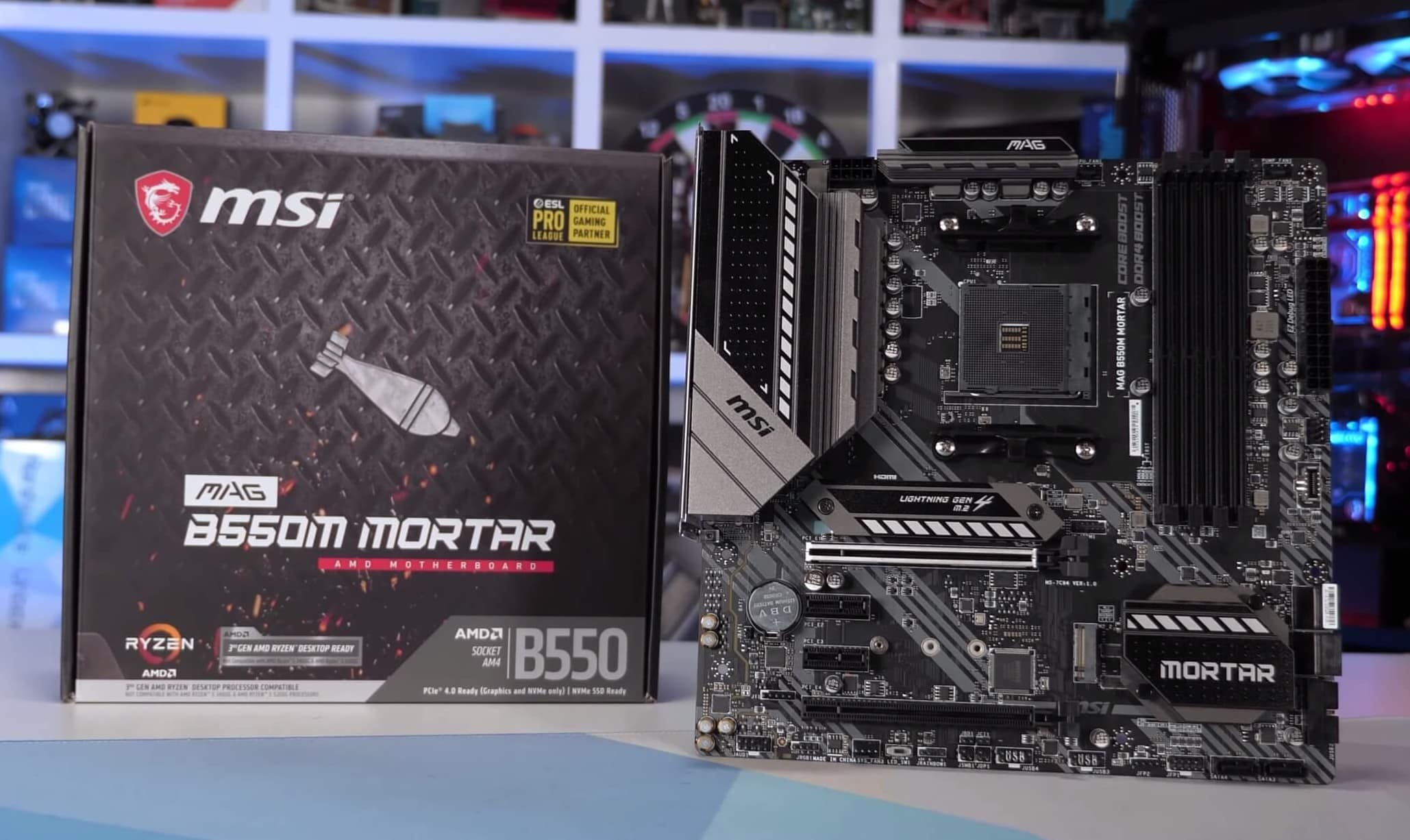 Amd B550 Motherboard First Look Vrm Temperature Test