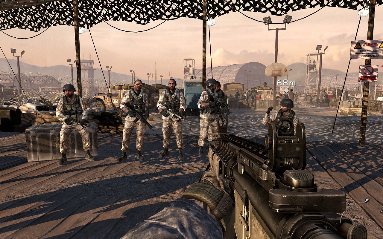 Call of Duty: Modern Warfare 2 Graphics Performance > In-Game Screenshots | TechSpot