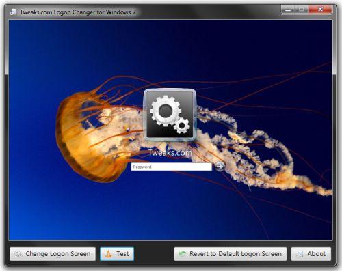 How to change the logon screen on windows 7 techspot - Windows 7 wallpaper changer software ...