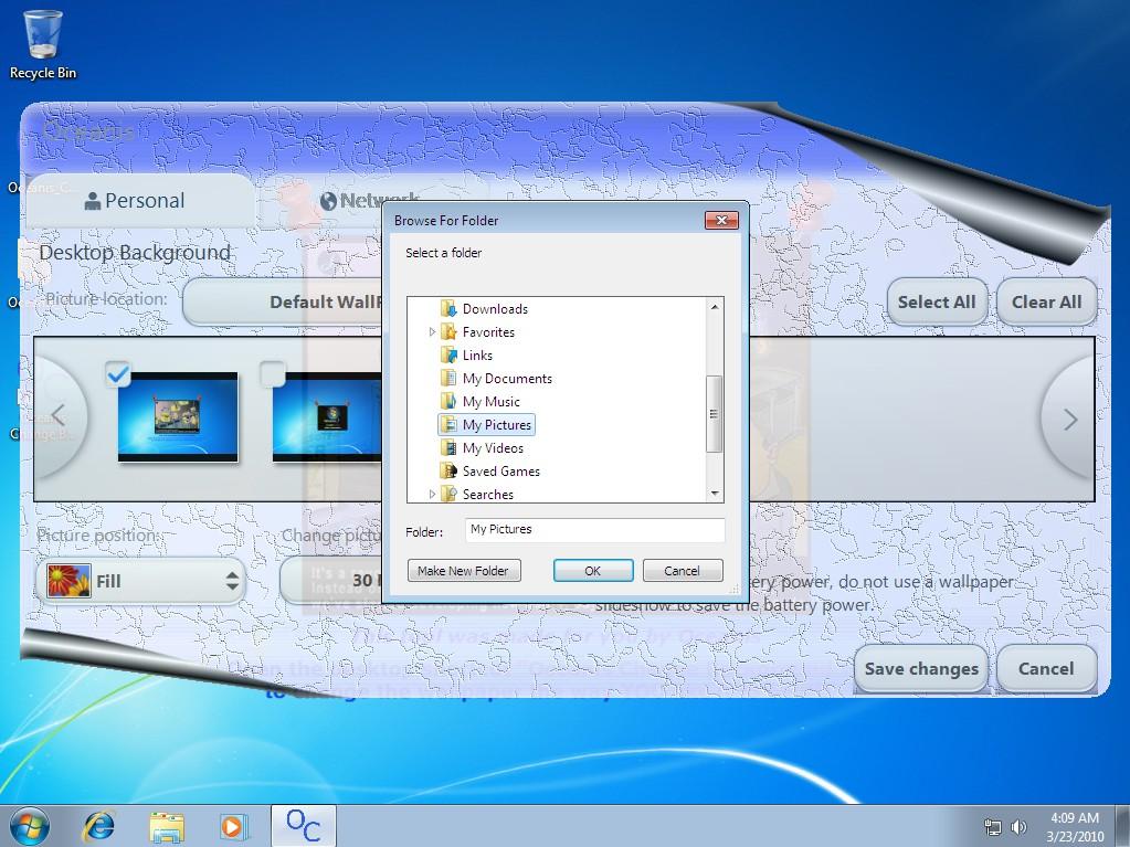 Change Your Wallpaper On Windows 7 Starter Photo Gallery Techspot