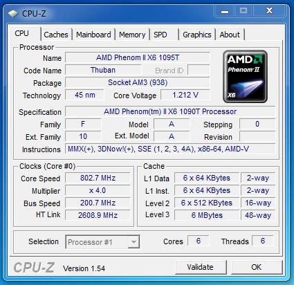 Amd Phenom Ii X6 1090t Be Phenom Ii X6 1055t Review Power Consumption