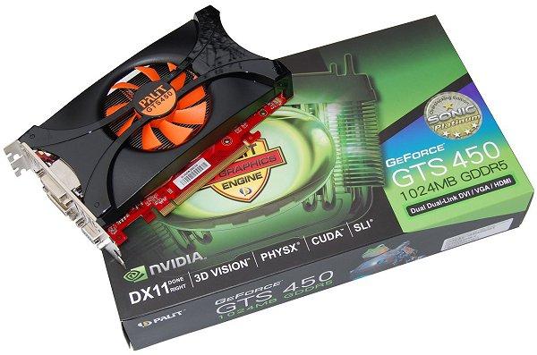 Драйвер nvidia 450 gts.
