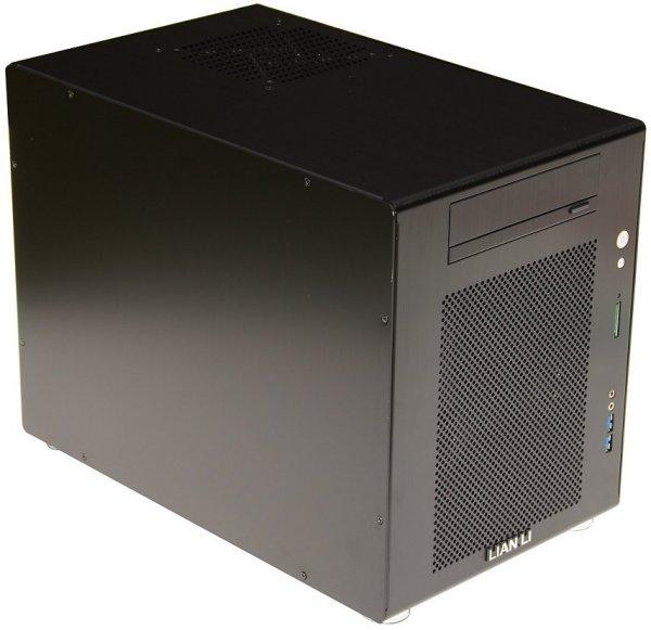 Lian Li Mini Q Pc V354 Microatx Case Review Gt External