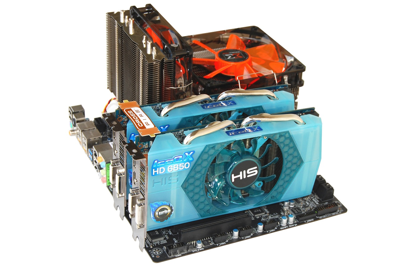 His Radeon Hd 6850 6870 Iceq X Turbo Crossfire Review His Radeon Hd 6850 Iceq X Turbo
