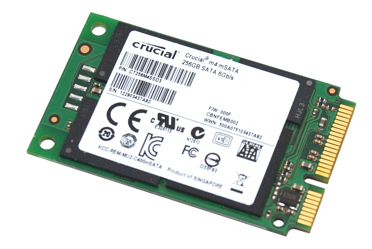Crucial m4 mSATA 256GB SSD Review Photo Gallery - TechSpot
