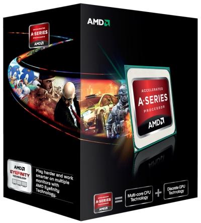 Processador AMD Trinity APU A10-5800K-Especificações