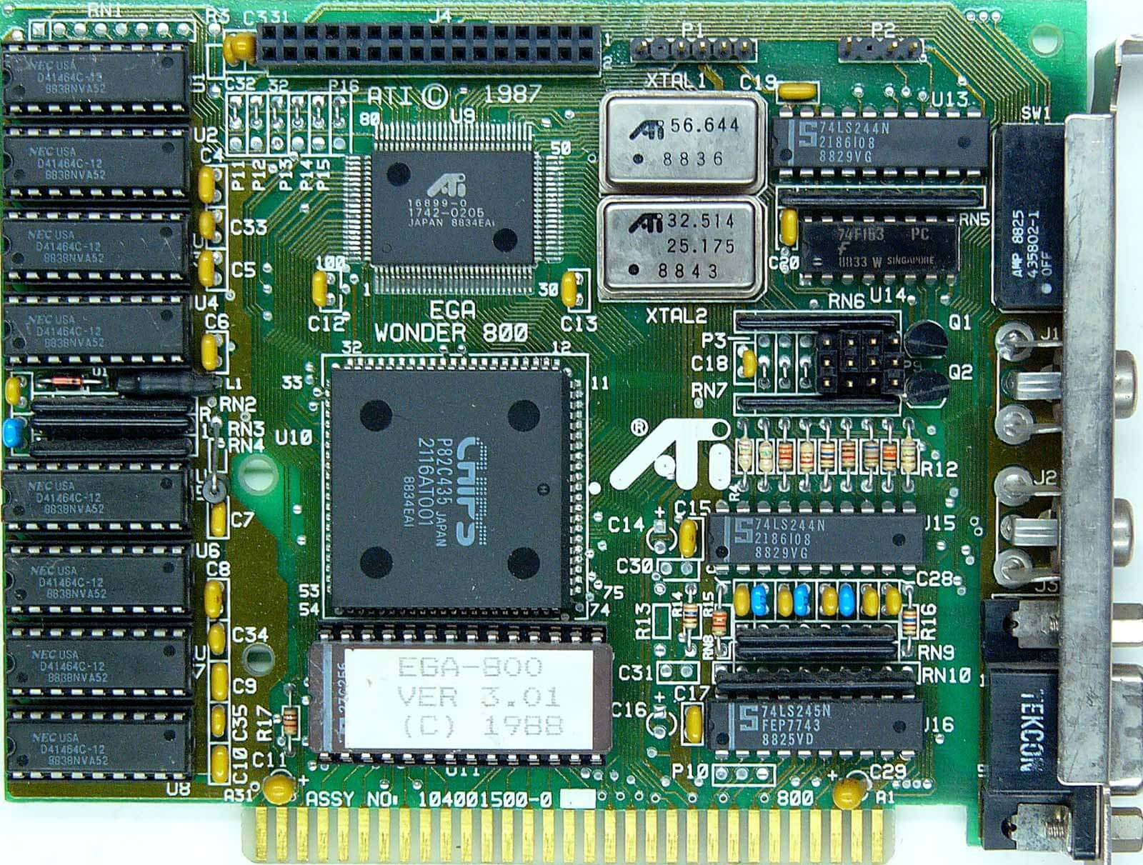 The History of the Modern Graphics Processor