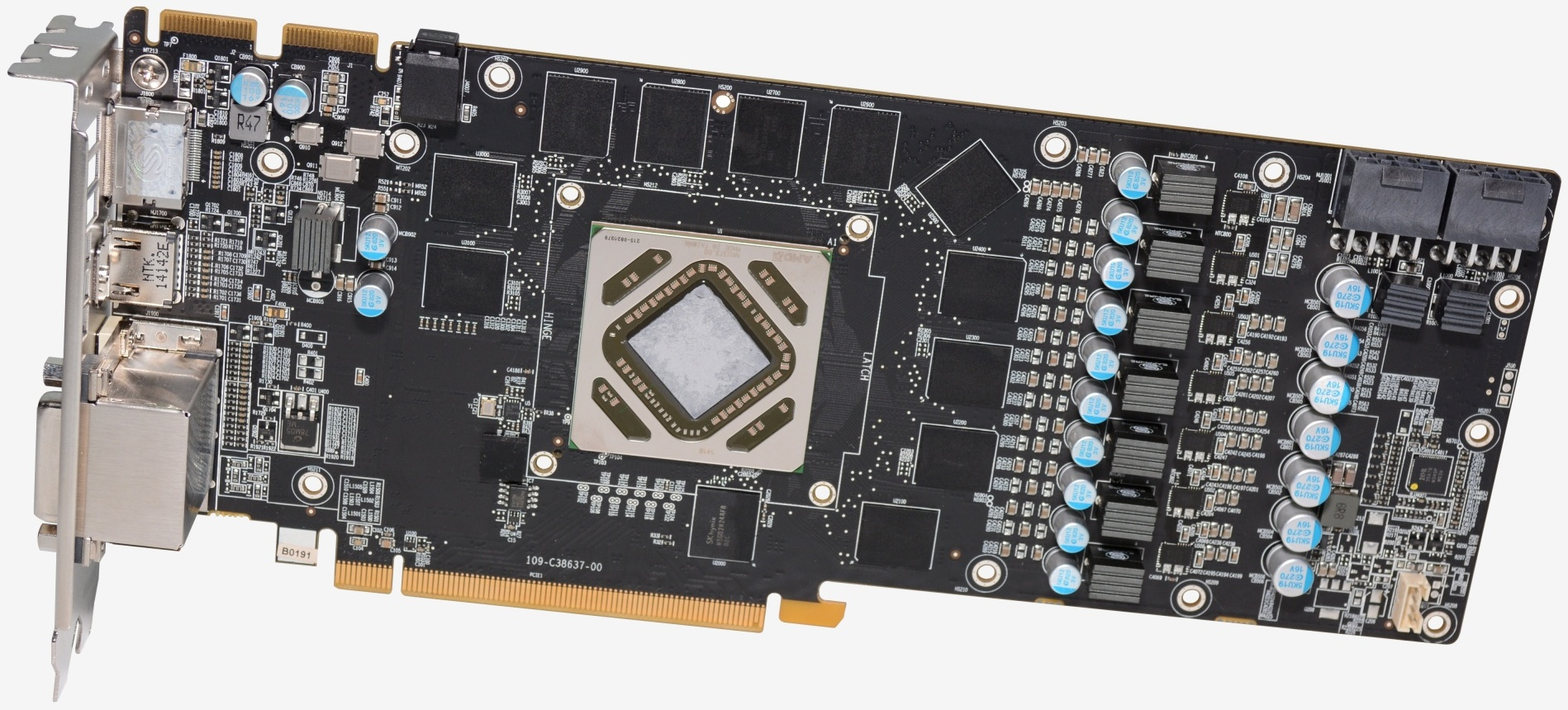 Sapphire R9 280X Dual-X Gpu Backplate