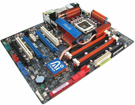 ASUS P5E3 DELUXE WIFI-AP BIOS Chip