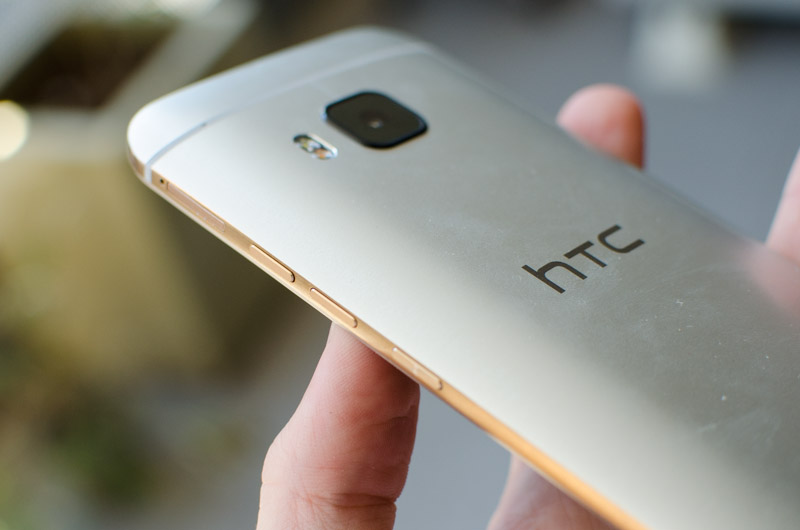 HTC One M9 parte de tras