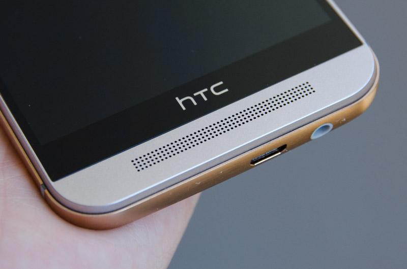 HTC One M9 microfone