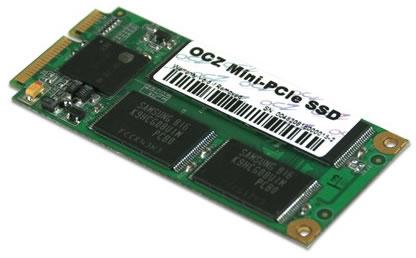 ocz minissd OCZ Mini PCI Express SSDs