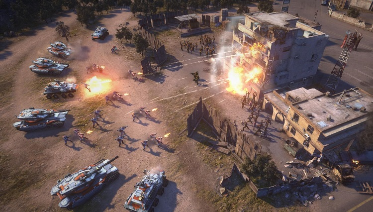 ea, pc, command and conquer, rts