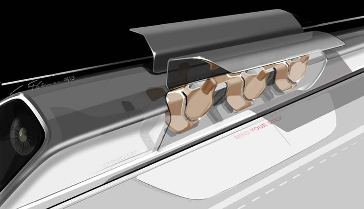 hyperloop illustration
