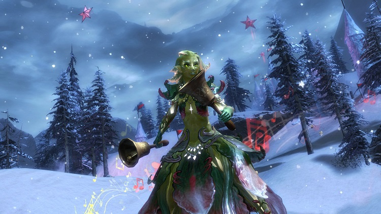christmas, holiday, guild wars, guild wars 2, wintersday, nc soft, arena net, tyria