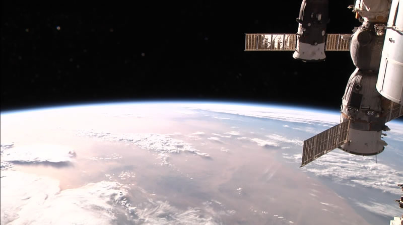 international space station, heartbleed