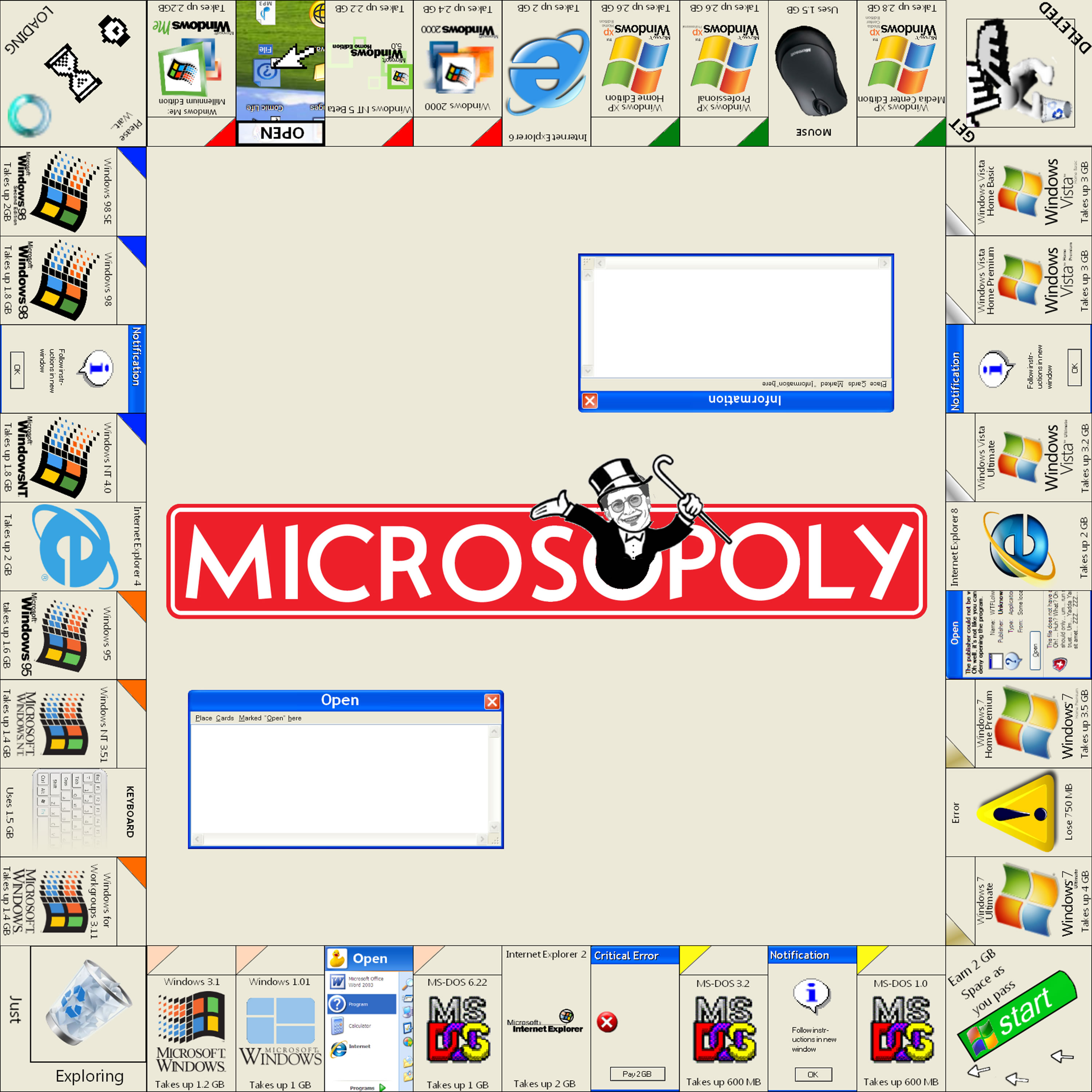 playing monopoly microsoft case study