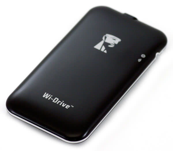 Kingston Wi Drive Portable Wireless Storage For Ipad