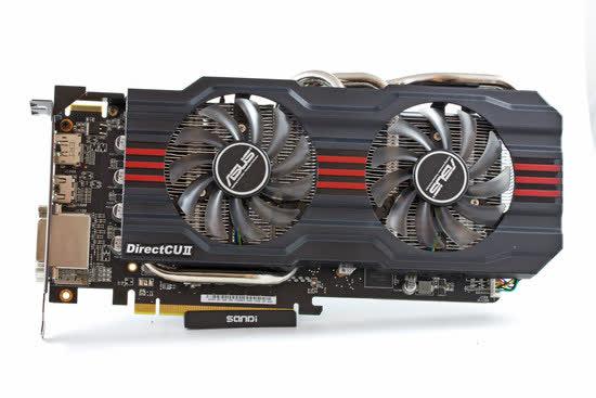 Asus Radeon HD 7870 DirectCU 2 TOP 2GB GDDR5 PCIe HD7870
