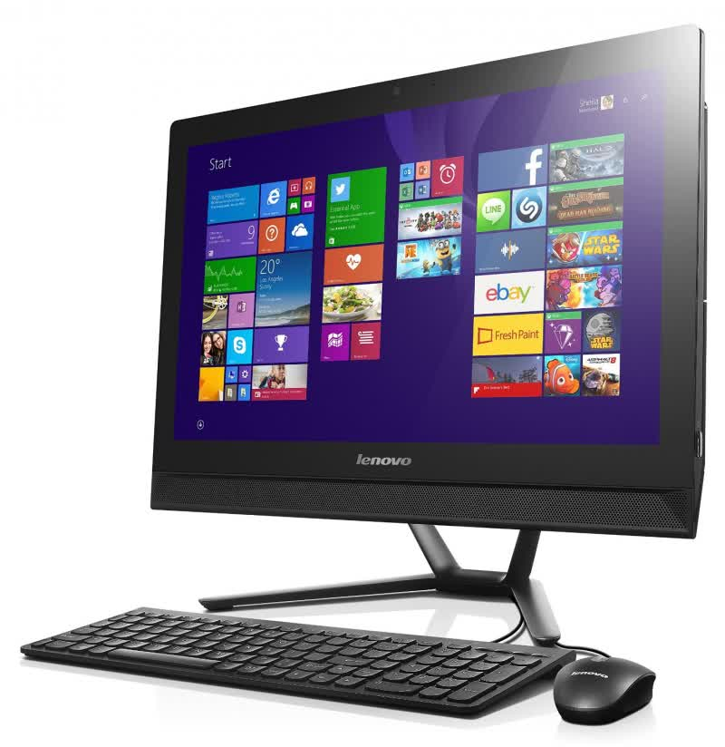 Lenovo IdeaCentre C40-30 All-in-One Reviews and Ratings - TechSpot