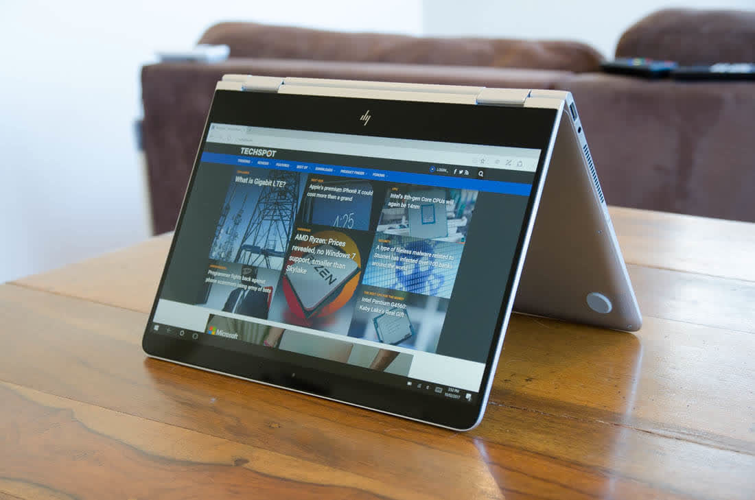 Hp Spectre X360 13 2017 Reviews And Ratings Techspot Ae519tu
