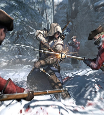 ps3, playstation, ubisoft, gaming, xbox 360, assassins creed, trailer, teaser, assassins creed 3, assassins creed iii