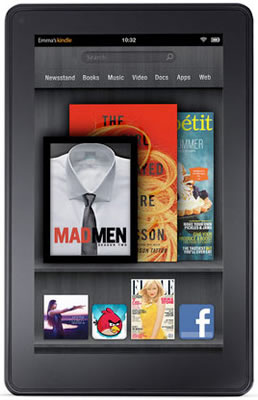 amazon, apple, ipad, android, kindle, tablet, e-reader, kindle fire