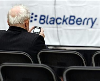rim, blackberry, quarterly results