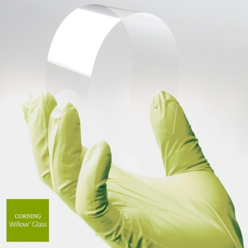 gorilla glass, corning, willow glass, wearables, apple watch