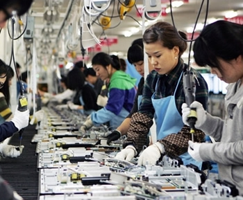 apple, foxconn, china, united states, us, asia, jobs, terry gou, made in the usa, assembled in usa, outsourcing, made in america, robots, automation, hon hai precision industry