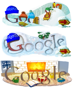 google, do a barrel roll, google easter, let it snow, winter, easter egg