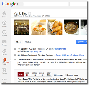 google, local, google plus, zagat, business, yelp, announcements