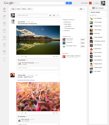 google, facebook, google plus, social networking, updates, social media, revamps
