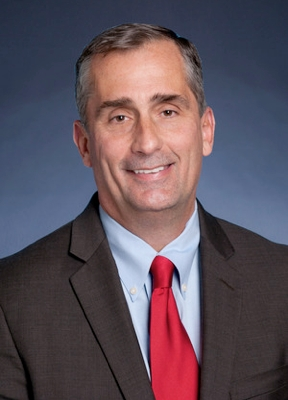 intel, ceo, brian krzanich