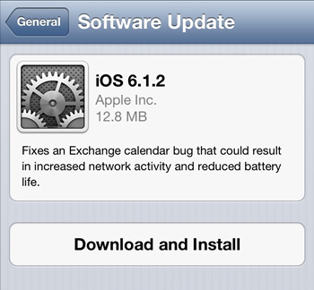 iphone, ipad, ios, exchange, firmware, jailbreak, passcode, software updates, security flaws, bugs, ios 6.1, evasi0n, ios 6.1.1