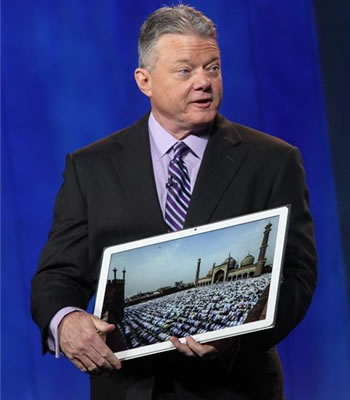 panasonic, ces, tablet, slate, windows 8, 4k resolution, ces 2013