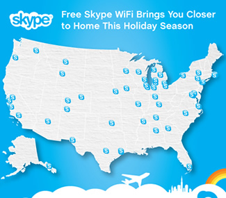 google, microsoft, android, skype, mobile, travel, holiday, wifi, airports, flying, skype wifi